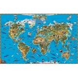 Карта Мир. Обитатели Земли.