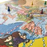 "Карта - Игра ""Кругосветка Европа"""
